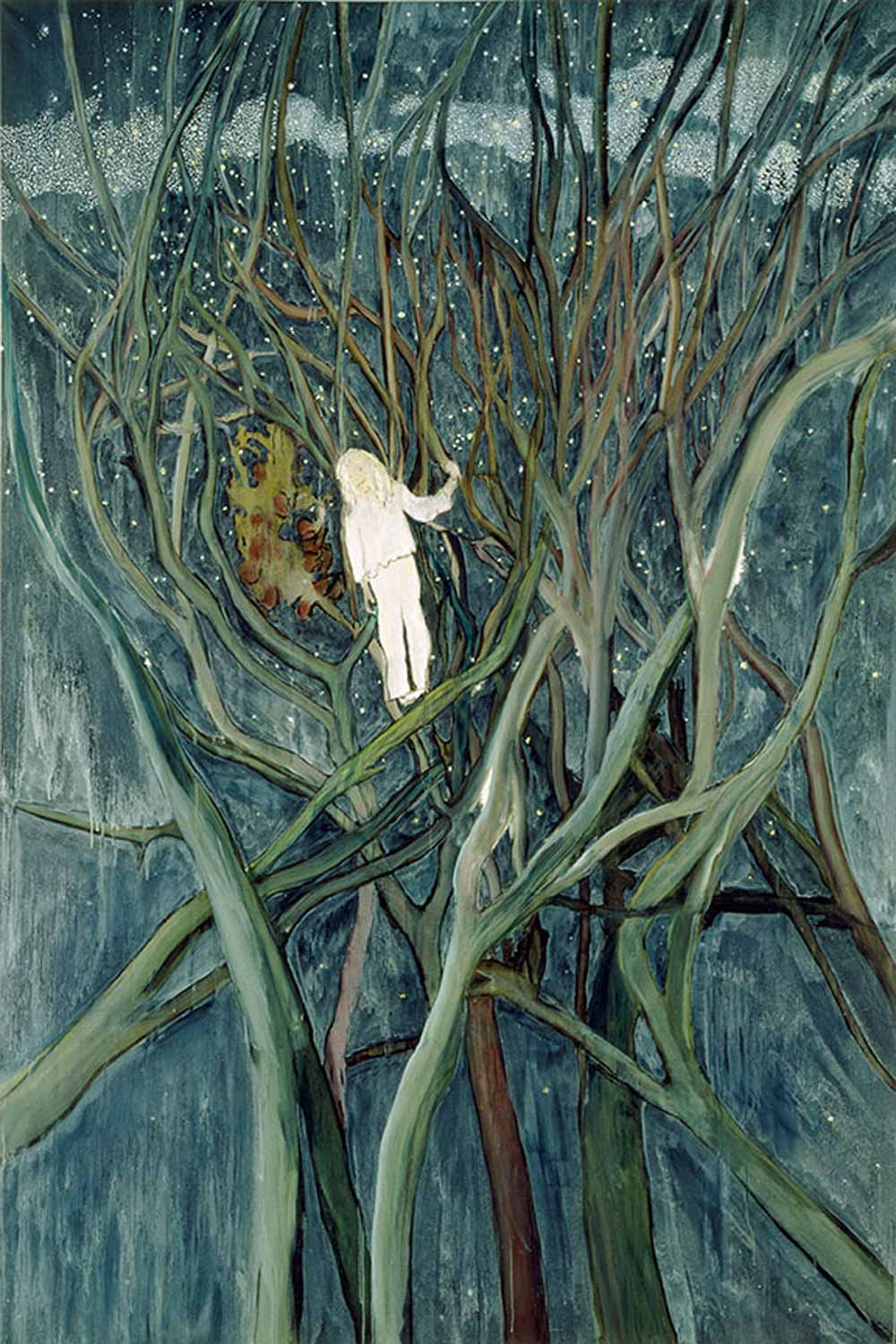 Girl-in-White-with-Trees,-2001-2-