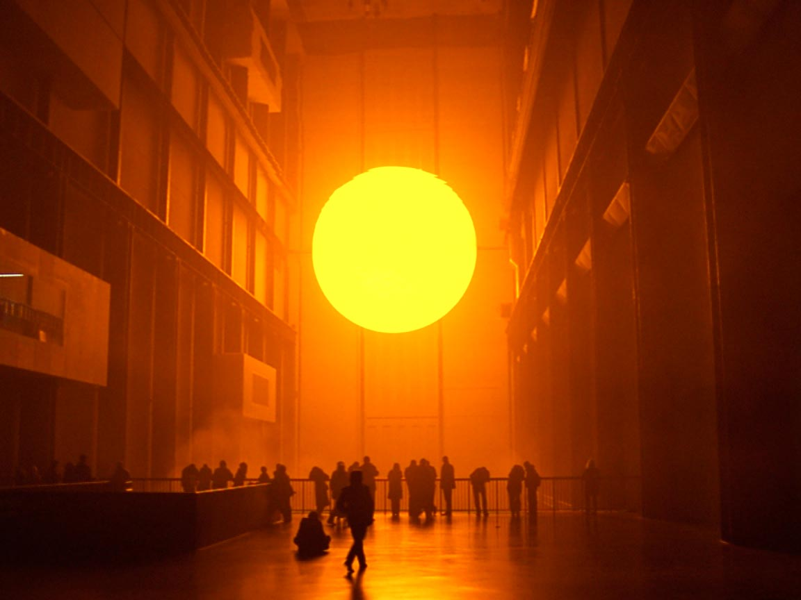 Olafur-Eliasson- The Project Weather © Olafur Eliasson