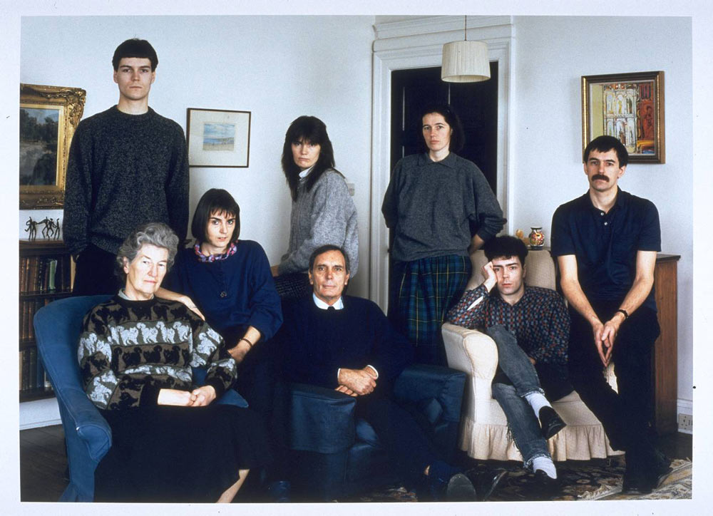 Thomas-Struth-The-Smith-Family,-Fife,-Scotland-1989-1989
