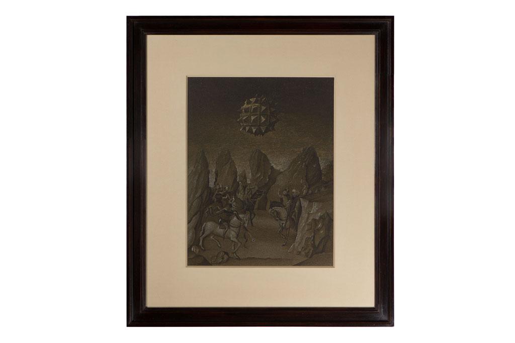 """""""Studies into the past"""", Encre et aquarelle sur papier. 49 x 42,2 cm.jpg"""