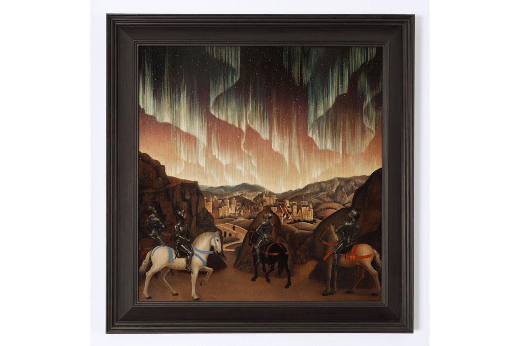 """""""Studies into the past"""", Huile sur panneau de chêne, cadre. 68,5 x 66,5 cm.jpg"""