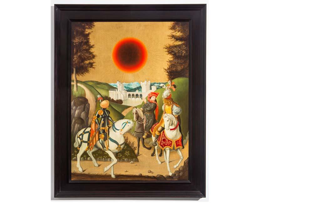 Studies into the past, huile sur panneau de chêne encadré, 130 x 102 cm.jpg
