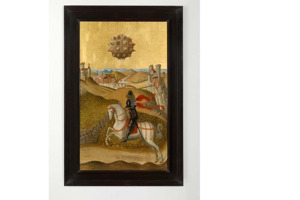 Studies into the past, huile sur panneau de chêne encadré, 130 x 83 cm.jpg
