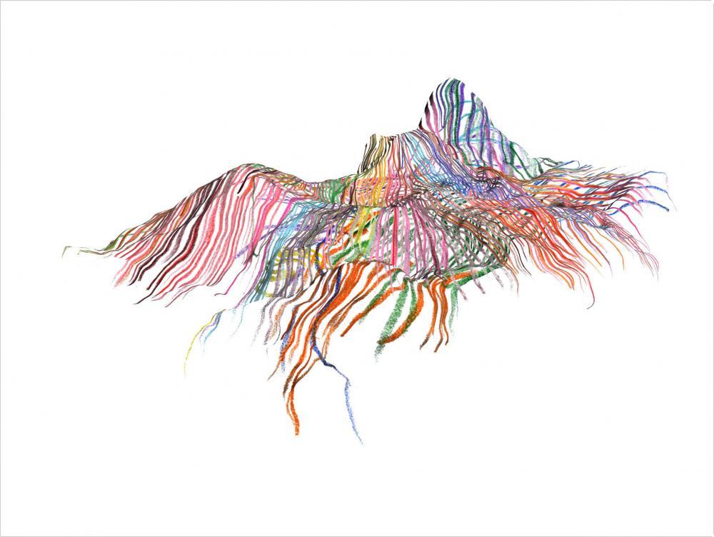Sans titre #3, dessin numérique, 30 x 40 cm, 2009(4)