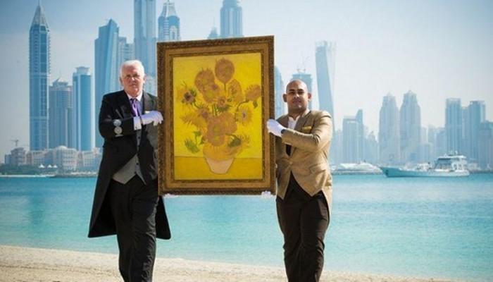 Neuf chef d'oeuvres de Van Gogh clonés à Dubaï