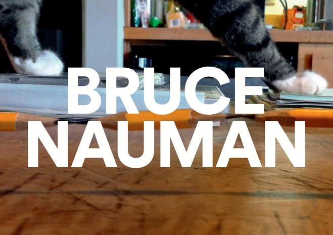 Bruce Nauman à la Fondation Cartier pour l'art contemporain